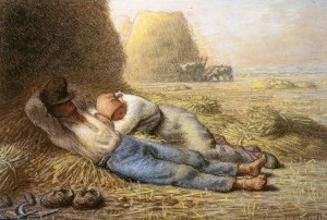PNoonday Rest, by Millet