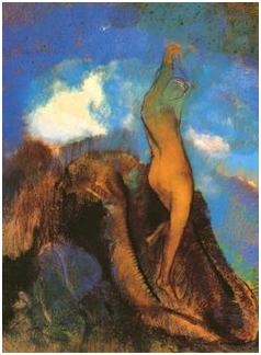 Pastel D Odilon Redon La Naissance De Venus Interaction Du Fond Et Du Sujet En Peinture 2 Pastels Encres Pastellithes