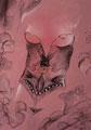 """Pastels et encre de Chine de la collection """"Le Rose & le Noir"""""""