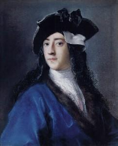 Portrait of Gustavus Hamilton by Rosalba Carriera